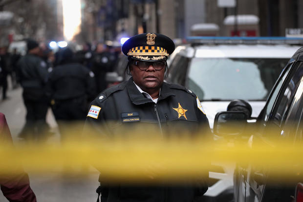 Police Commander Shot And Killed In Downtown Chicago