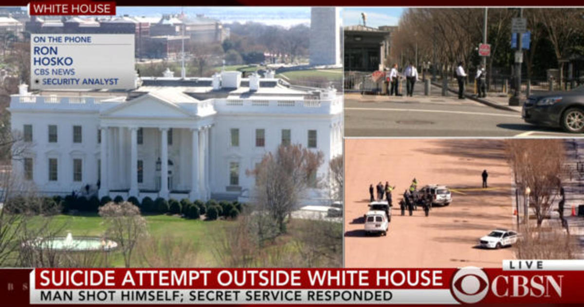 secret service treating shooting near white house as