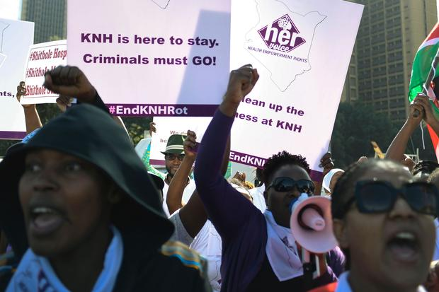 KENYA-HOSPITAL-SOCIAL-HEALTH-RAPE-DEMO