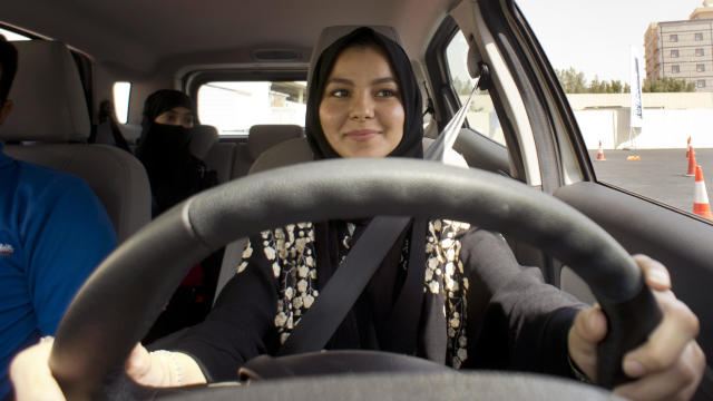 Saudi Women Steer The Wheel