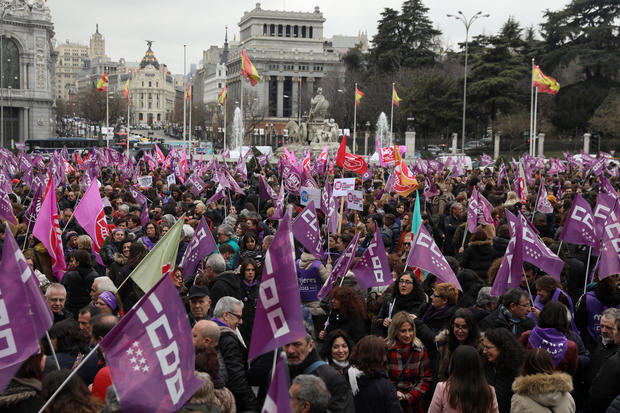 Rallies mark International Women's Day 2018