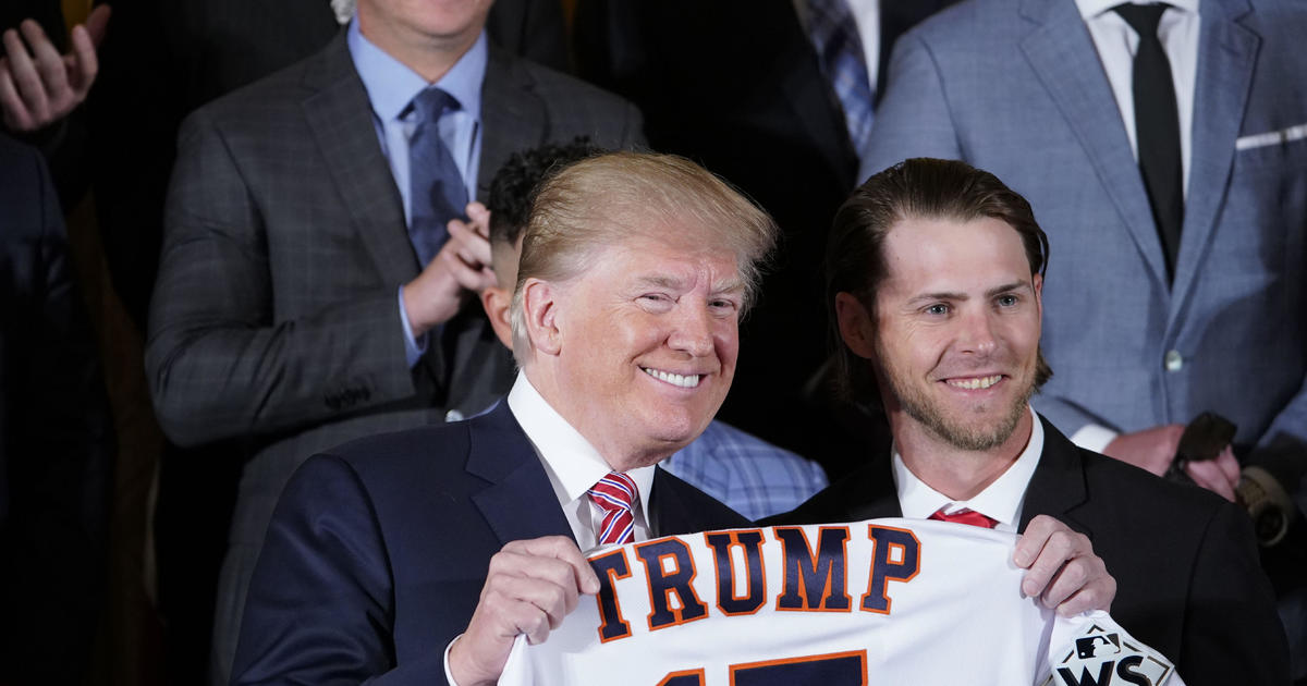 Trump hosts World Series champ Houston Astros at White House -- live stream