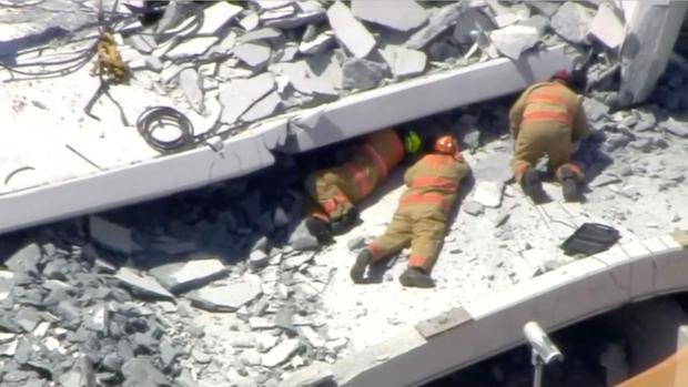 pedestrian bridge collapse -- florida international university