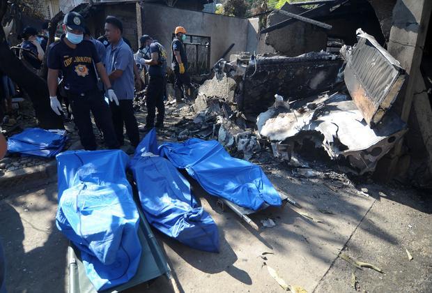 PHILIPPINES-ACCIDENT-AVIATION