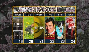 Calendar: Week of March 19