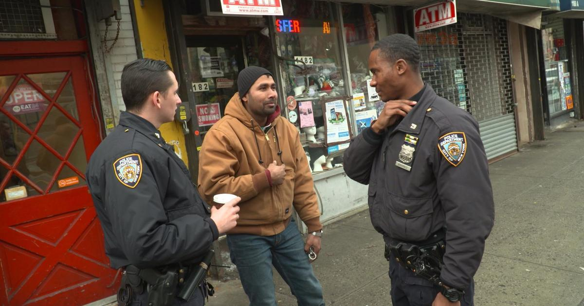 NYPD neighborhood policing program builds relationships to