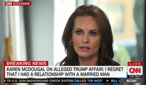 Former Playboy model apologizes to Melania for alleged affair with Trump