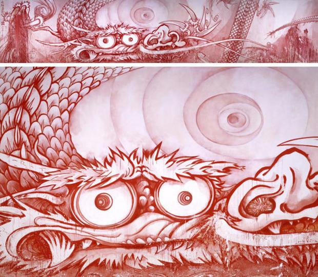 takashi-murakami-dragon-in-clouds-red-mutation-with-detail-610.jpg