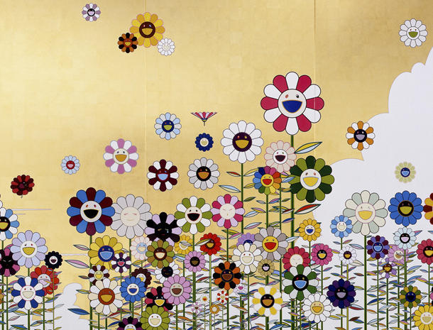 """Flowers, flowers, flowers"" - The art of Takashi Murakami - Pictures - CBS News"