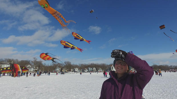 Go fly a kite at the color the wind kite festival in for Pure fishing spirit lake iowa
