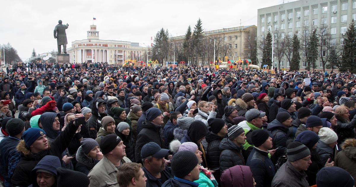 Russia Kemerovo mall fire brings rage Vladimir