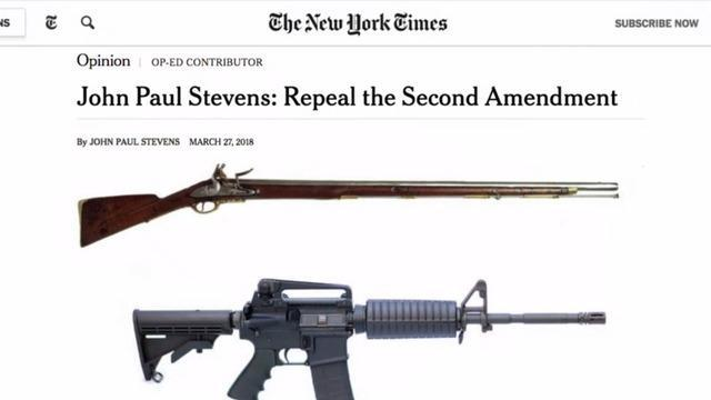 Repealing The Second Amendment Is It Even Possible Cbs News