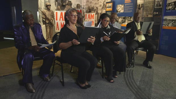 "Choir recalls singing for MLK.: ""We knew it was important to sing for him"""