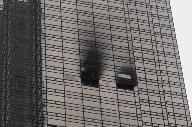 trump tower fire april 2018