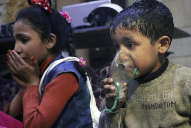 Israel Condemns Syria Chemical Attack, Accuses Regime of 'Crimes Against Humanity'