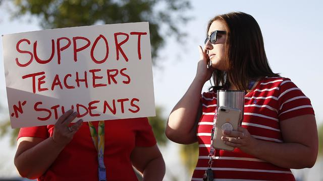 Arizona Teacher Protests