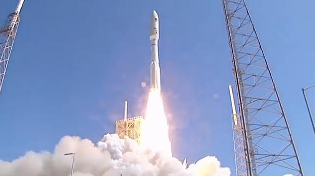 Atlas V rocket launches from Cape Canaveral