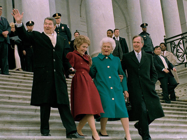 BUSH SR. INAUGURATION 1989