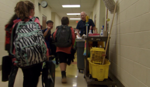 School janitor proves first impressions don't tell the whole story