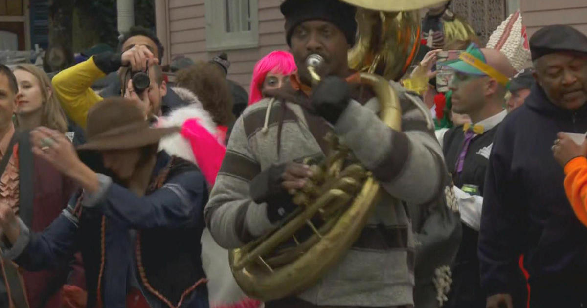 New Orleans Jazz Fest 2018 >> Preserving the relics found in Treme, the birthplace of jazz - CBS News