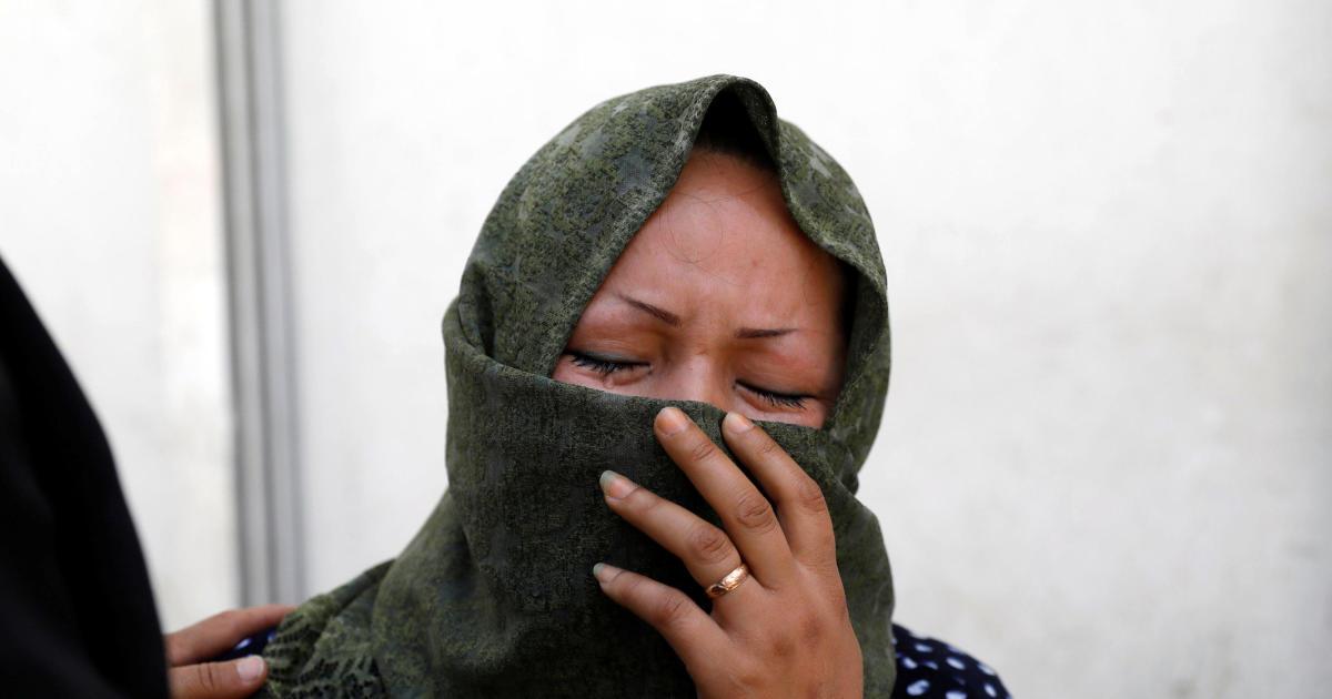 Suicide bomber strikes voter registration center, kills 31 in Afghan capital