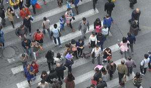 Even jaywalking faces scrutiny under China's social credit system