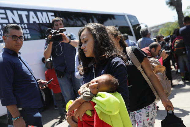 Migrant Caravan Traveling Through Mexico Nears U.S.