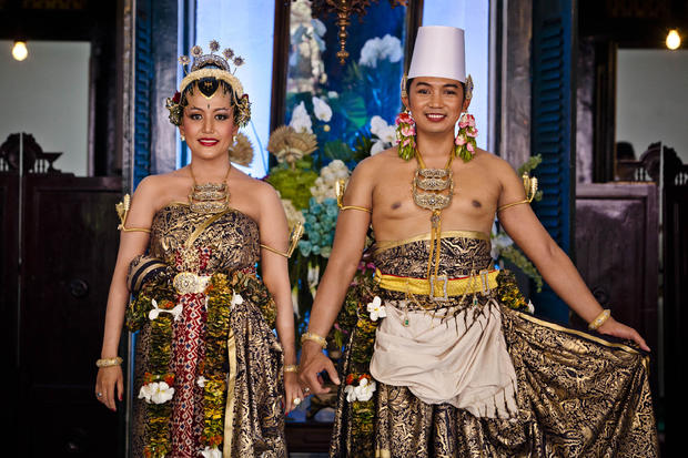 Royal Wedding Held For Sultan Hamengkubuwono X's Daughter Gusti Kanjeng Ratu Hayu And KPH Notonegoro