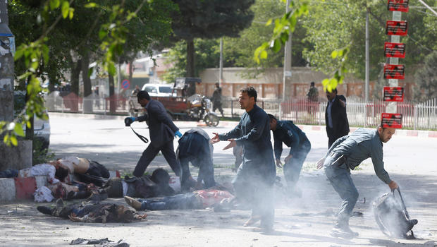 At Least 29 Dead In Two Explosions In Afghanistan's Capitol