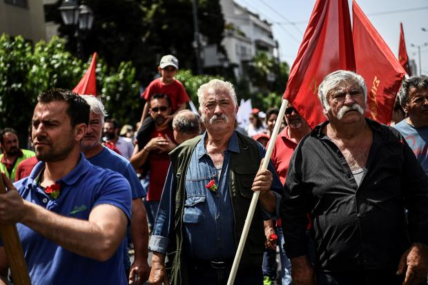 GREECE-MAY DAY