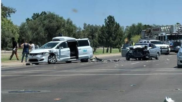Waymo self driving suv involved in crash in chandler for Department of motor vehicles chandler az
