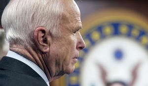 """""""The Restless Wave"""": Parting words from John McCain"""