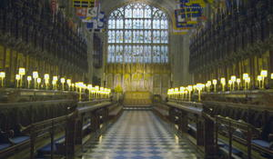 """Inside the chapel where Harry and Meghan will say """"I do"""""""