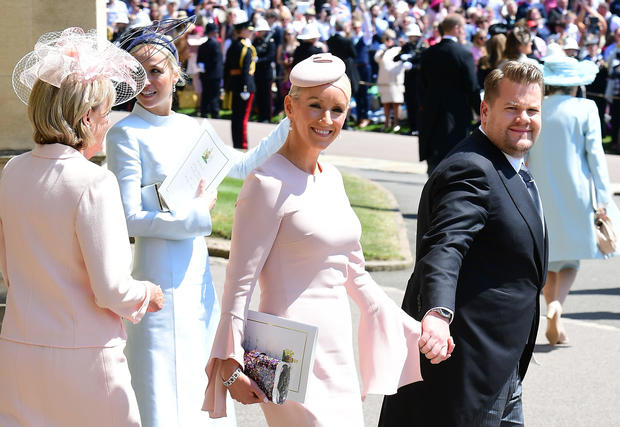 Julia Carey Hats And Fascinators Style At The Royal Wedding 2018 Pictures Cbs News