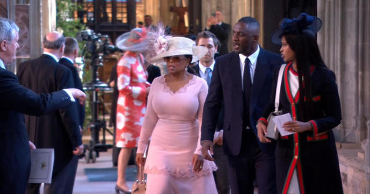 Oprah Winfrey, Idris Elba among first to arrive for royal ...