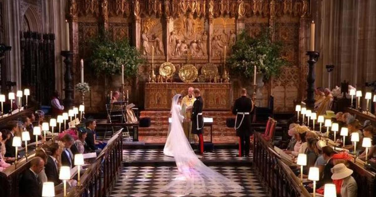 the royal wedding ceremony in full cbs news