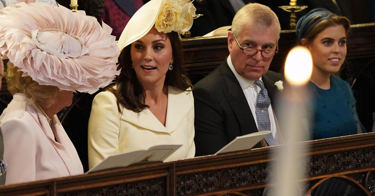 8e0b795679dc8 Victoria Beckham - Hats and fascinators  Style at the royal wedding 2018 -  Pictures - CBS News