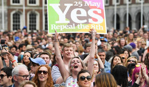 """Ireland's landslide victory to legalize abortion called """"quiet revolution"""""""