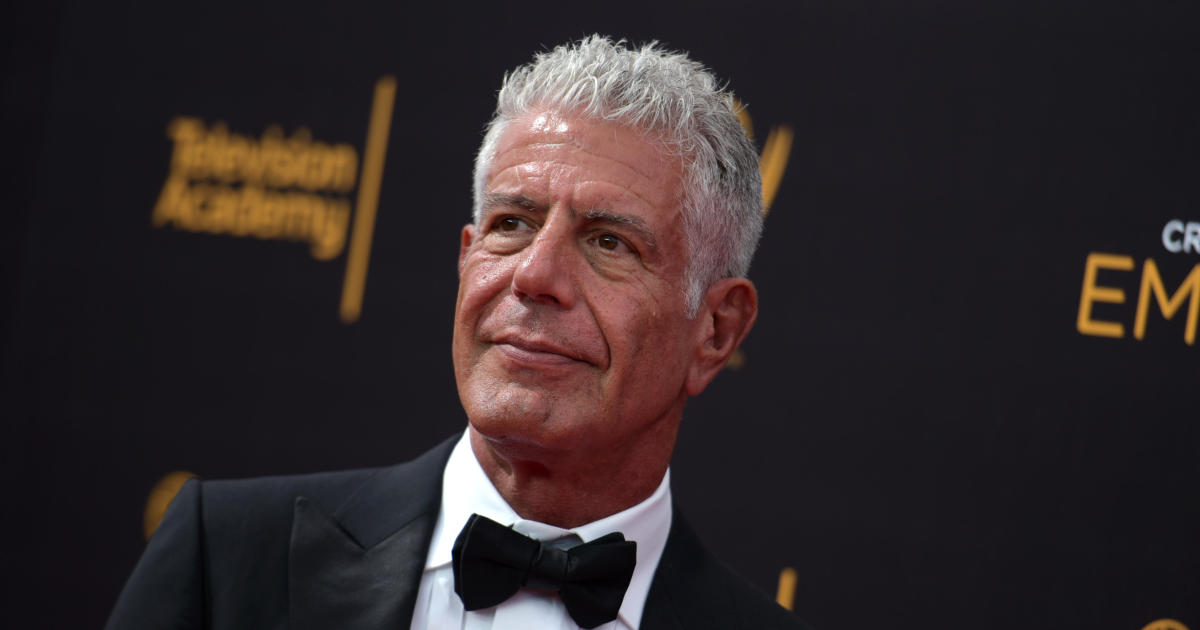 Anthony Bourdain receives posthumous Emmy nominations