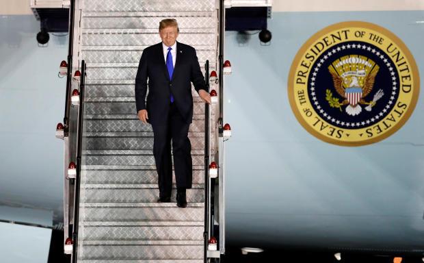 President Trump -- Singapore