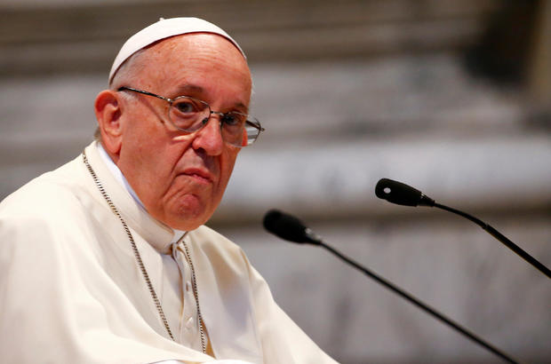 FILE PHOTO: Pope Francis