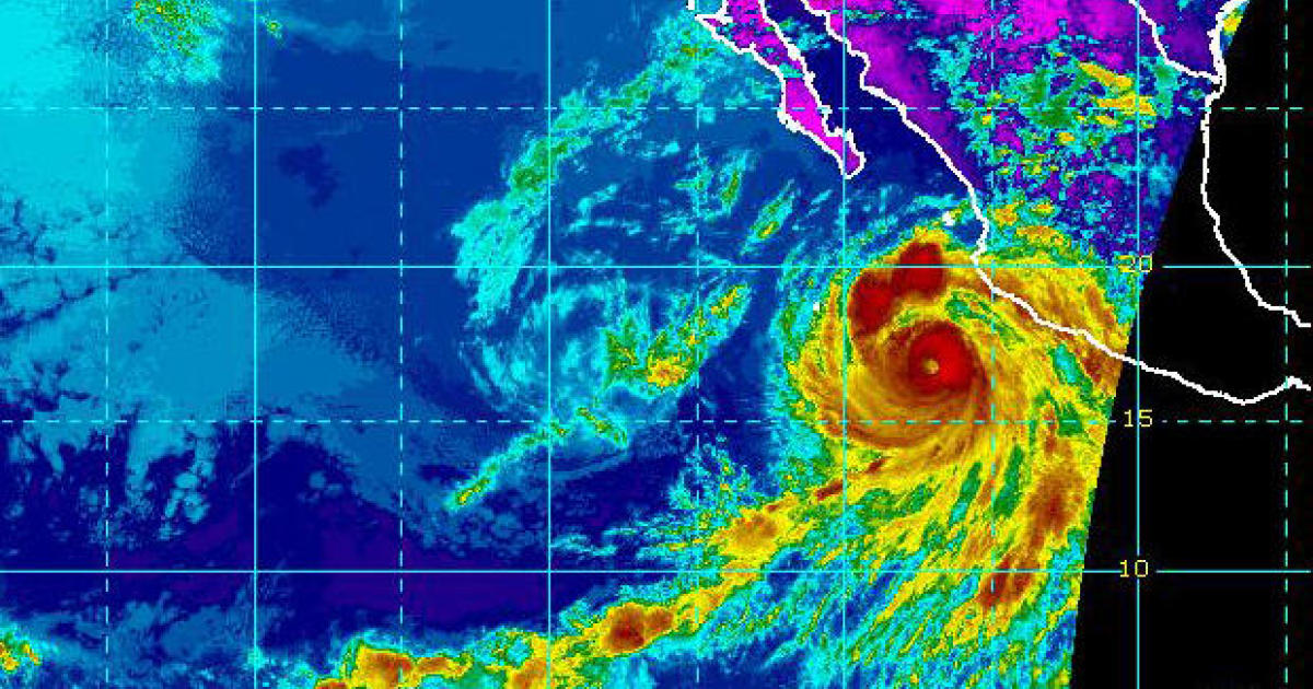 Hurricane Bud grows to Category 3 storm off Mexico
