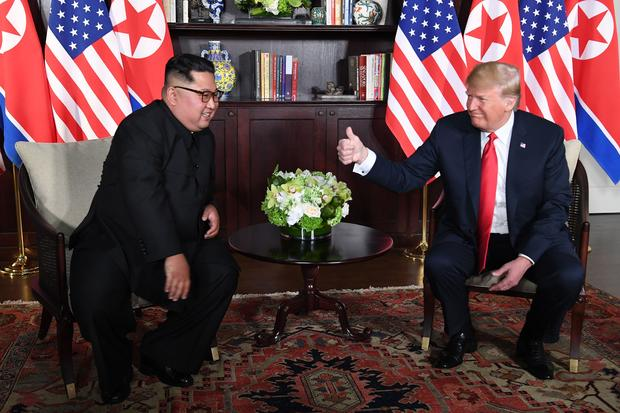 Trump, Kim -- U.S.-North Korea summit