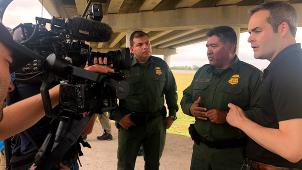 On the ground with Border Patrol agents in Texas
