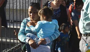 Immigrants at the border hold out hope for asylum