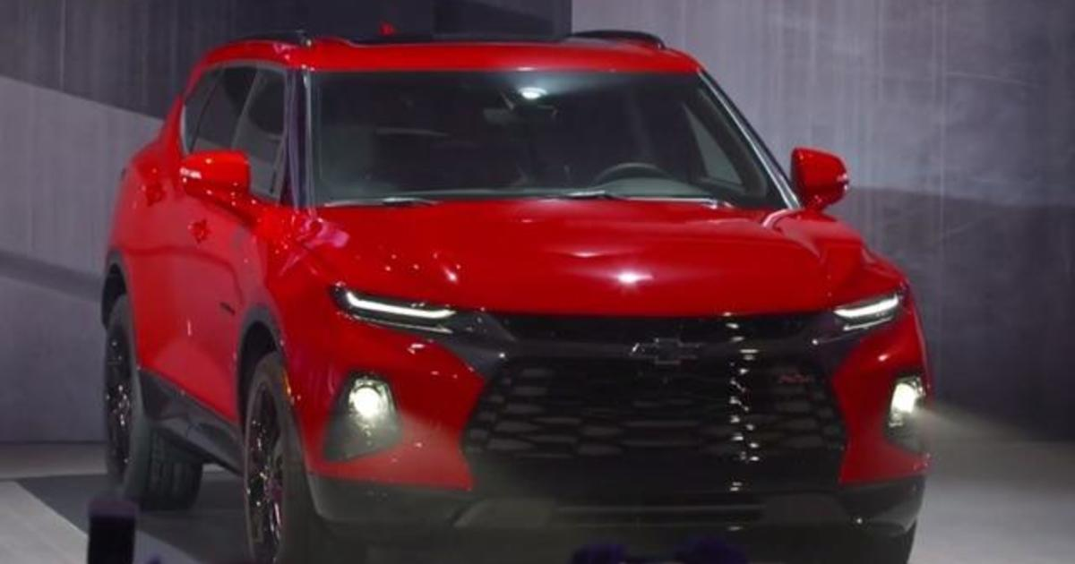 GM is bringing back the Chevy Blazer after 14 years - CBS News