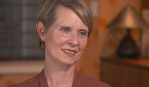 "Cynthia Nixon on running for office: ""People can have a lot of careers in their life"""