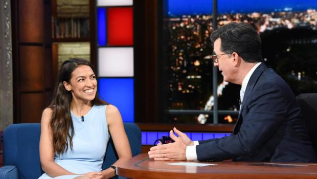 Alexandra Ocasio Cortez on the
