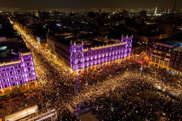 MEXICO-ELECTION-LOPEZ OBRADOR-SUPPORTERS-RESULTS-CELEBRATION