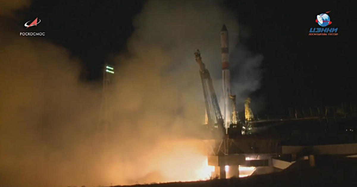 Russia launches Progress supply ship on fastest trip ever to International Space Station